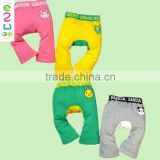Wholesale Animal Printing Pure Color Baby Harem Pants