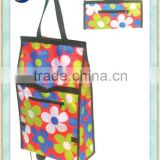 shopping trolley bag/folding shopping bag with wheels/foldable shopping bag                                                                         Quality Choice