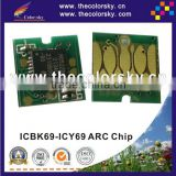 (ARC-E-IC69R) ARC auto reset inkjet ink cartridge chip for Epson ICBK69L ICBK69 ICC69 ICM69 ICY69