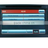 navigation system for volkswagen touareg with CE and ROHS certificates