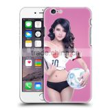 beautiful football girl phone case for Samsung Galaxy S6 for iphone 5 5s 6 6s plus Original wholesale