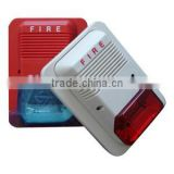 Fire siren with light/ Xenon tube light or LED light optional addressable fire alarm system