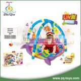 2016 New design musical baby play carpet with rattle