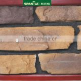 superior quality wall cladding artificial stone slab,external and internal stone wall cladding