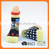 custom cotton anti-slip indoor flooring baby sock shoes