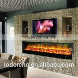 2000mm led electric fireplace heater with led light