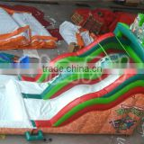2016 popular giant inflatable water slide for adult/intex inflatable water slide/inflatable slide