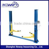 4 ton hydraulic two post car lifter