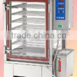Quickly Commercial Steamed Bun/ Cake Auto-ignite & Temperature Control Type Multi-Purpose Gas food Steamer