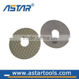 4 Inch Best Quality Dry Use Flexible Diamond Polishing Pads Resin Pad for Granite/Marble/Engineering Stone/Concrete