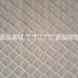 Wholesale warp knitted lozenge pattern jacquard fabric, lady's fashion clothing jacquard fabric
