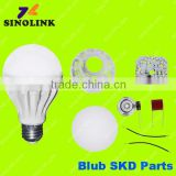 Plastic LED Bulb SKD 5630 SMD chips PC COVER