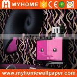 Wholesale price MyHome vinyl waterproof home use wallpaper catalog