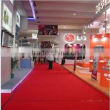 Fireproof Non Slip Stair Custom Red Carpet                                                                         Quality Choice