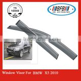 wholesale auto body parts FOR BMW X5 X series 2008-2013 car window deflector visor