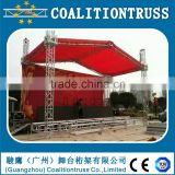 Aluminum Stage truss with roof truss type portable stage                                                                                                         Supplier's Choice