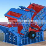SANYYO cobblestone granite basalt impact crusher price CE ISO stone crushing machinery PF1210