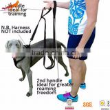 Wholesale Double Handle Nylon Dog Leash Material Pet Supplies for Dogs                                                                         Quality Choice
