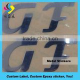 High Quality metal logo tags,stainless steel logo,custom metal logo stickers Accept Paypal
