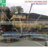 Latest euro hot sale home fitness equipment mobile jumping bungee trampoline price