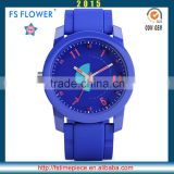 FS FLOWER - Bule Color Young Boy And Young Ggirl Watches Fashion Hand Watch London Watch