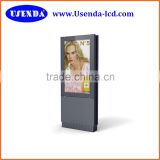 Touch screen outdoor lcd Android tv 55inch advertising display ad display for outdoor advertisiment