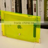 2013 Neswest designer Transparent PVC Office Men & Women's Envelope Clutch Bags Handbag Paper Bag File package