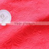 Polyester/cotton jacquard fabric for dresses and suit flower styles for women's apparel