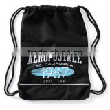 Gym Sack Drawstring Bag Back Pack Sack Cinch Bag Polyester Printed Drawstring Bags Gym Duffel Bag