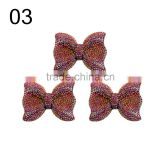 factory wholesale colorful kawaii cabochon resin bow