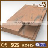 Guangdong Anti-UV white color outdoor composite wood board plank flooring with SGS and CE