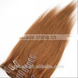 Clip-in Remy AAAAAAA Hair Extensions Full Head 100% Human Hair