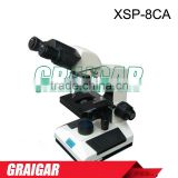 Pathology Histology Medicine Binocular Biological Microscope XSP-8CA 360 degree rotatable, monocular 30 degree tilt