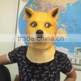 Hot selling Eco-Friendly animal head masks for party latex horse head mask