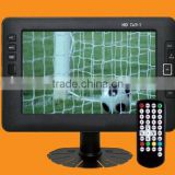 "9"" TFT LED CAR TV MONITOR with DVB-T/USB/TV"