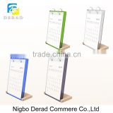 Vertical Desk Innovative Wooden Calendars Stand