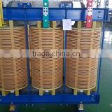 used in glass electric smelting 800kva insulation B grade 800KVA 3 phase dry transformer
