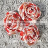 New arrival High Quality factory direct sale cheap china wholesale make satin ribbon flowers