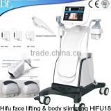 Effiective Beauty Hifu Machine Weight Loss Hifu 4MHZ High Intensity Focused Ultrasound For Body Slimming 2000 Shots