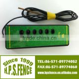 Alibaba China New products electric fence 1000V-6000V plastic ranch 6 lights energizer light fence tester