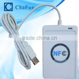 nfc card reader writer support ISO/IEC 18092,ISO14443A protocol to read and write can be used for access control system