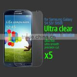 5x lcd screen protection film moblie screen guard For Samsung Galaxy S4 SIV I9500