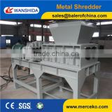 Wanshida Powerful Two Shafts Shredder for metal Drums Recycling