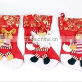 Hot Sale Cute Christmas Stockings Hanging Stocking Style Candy Bags Christmas Decorations Stocking Gifts