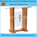 China supplier wholesale acrylic plexiglass pulpit for church