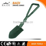 mini multi-functional survival foldable hunting camping military shovel with pickexe