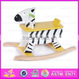 2015 hot sale wooden ride on toys,popular rocking horse wooden decorative,hot sale wooden rocking horse W16D015