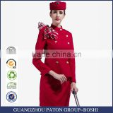 Flight Attendant Hat And Airline Uniforms Sets Pattern
