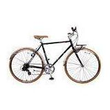Elegant Chromoly Steel Mens City Bike , Fixed Gear 8 SPEED BICYCLE