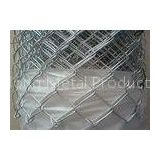 Cyclone Wire Mesh Chain Link Fencing 50mm For Airports / Expressway